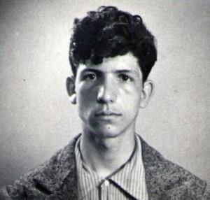 Voltolino Fontani a 17 anni nel 1937